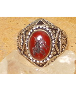 ANTIQUE RING HAUNTED 2 GHOUL GHUL KING QUEEN D... - $15,500.00