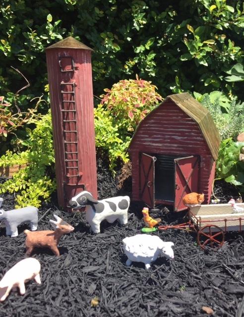 Miniature Barn- Farm Themed Fairy Garden Supplies