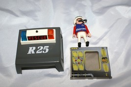 Playmobil Rescue Police Replacement Part LOT Light Flashing Roof Pilot W... - $9.89