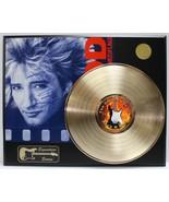 ROD STEWART GOLD LP  LTD EDITION REPRODUCTION SIGNATURE RECORD DISPLAY - $137.15