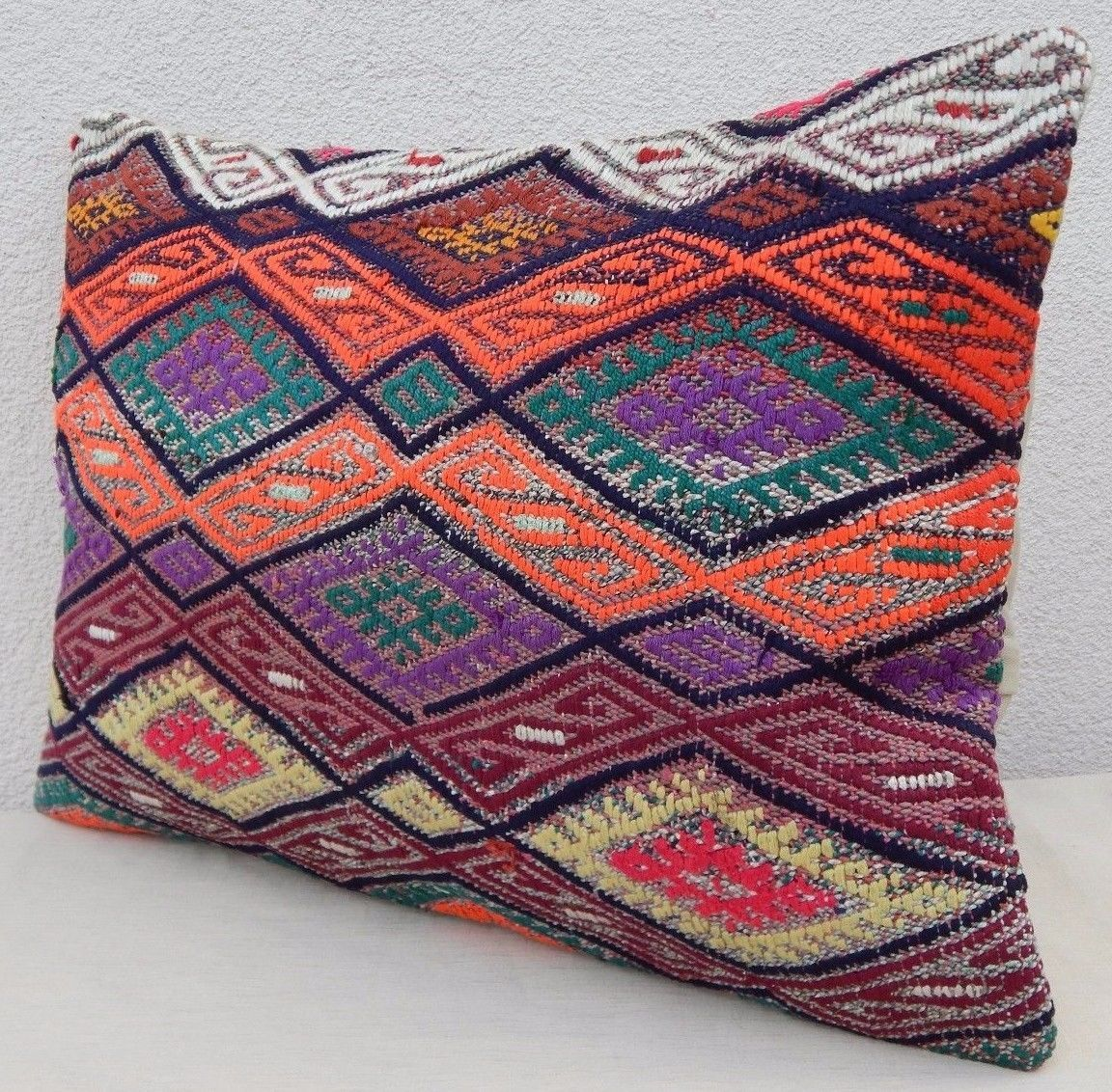 16 X 24 Throw Pillow Covers : 16 X 24 Body Pillow Cover,Decorative Throw Pillows,Multi Color Kilim Cushion - Pillows