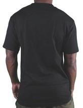 Deadline Mens Black Smoking Clown Bobble Head T-Shirt image 2