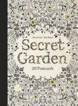 Secret Garden: 20 Colouring Postcards: 20 Postcards by Johanna Basford (English)