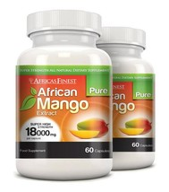 Africa's Finest Pure African Mango 18,000mg 120 Capsules - $77.99