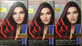 (Pack of 3) Revlon Salon Color #4B Burgundy Color Booster Kit For Week 3 And 6 - $29.69