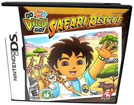 Go, Diego, Go: Safari Rescue Nintendo DS CIB - $4.14