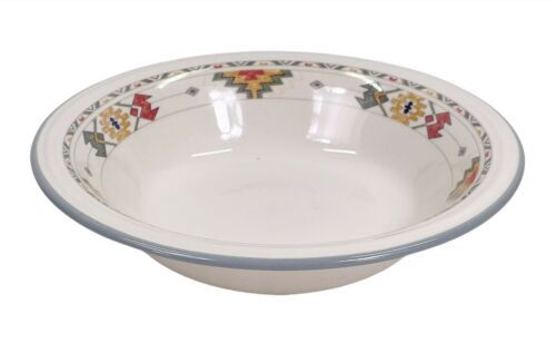 "Vintage Studio Nova ""TiIMBERLINE"" 8"" Coupe Soup Bowl Discontinued Pattern Y2318 - $9.79"