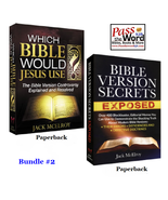 WHICH BIBLE WOULD JESUS USE?   BIBLE VERSION SECRETS EXPOSED   JACK MCELROY - $18.36+