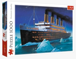 "NEW Trefl Puzzle Jigsaw 1000 Pieces ""Titanic"" FREE SHIPPING - $43.89"
