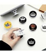 Foldable Phone Painted Expanding Stand Grip Finger Ring Anti-Fall Round ... - $3.86+
