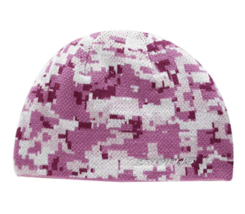 Women's Seirus Innovation Reversible Digi Beanie Knit Hat One Size Rose/Gray