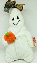 Ty Ghoulianne The Halloween Ghost Beanie Baby Bean Bag Plush - $15.79