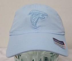 Atlanta Falcons NFL Blue Reebok Adjustable Slouch Hat Cap NWT - €8,79 EUR