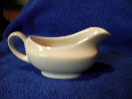SMALL CHURCHILL Relish GRAVY BOAT MADE IN ENGLAND WHITE - $6.77