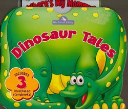 Dinosaur Tales 3 Board Books with Case My Animal Library - $4.90