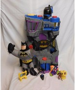 Fisher Price Imaginext BATCAVE DC Large Batman PlaySet + Robin + Talking... - $38.02