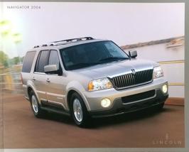 2004 Lincoln NAVIGATOR sales brochure catalog 1st Edition US 04  - $10.00
