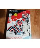 Paper Punk Dog Paper Building Blocks Fold to Play Fun - $14.69