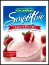Strawberry Smoothie Mix 2 oz Pack of 3