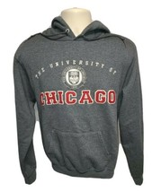 Champion The University of Chicago 1890 Adult Small Gray Hoodie Sweatshirt - $27.50
