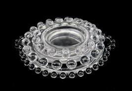 Ashtrays, Set of 3 Glass Stacking Ashtrays ~ Vintage Candlewick Design, ... - $17.59