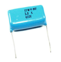 3µF, 400VDC Polypropylene Capacitor - Lot of 5    ( PP3_0 ) - $7.48