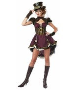Steampunk Girl Halloween Costume Adult Womans Medium 8-10 - $65.33