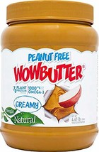 Wowbutter Natural Peanut Free Creamy 4.4lb Jars, 2 Pack - $39.56