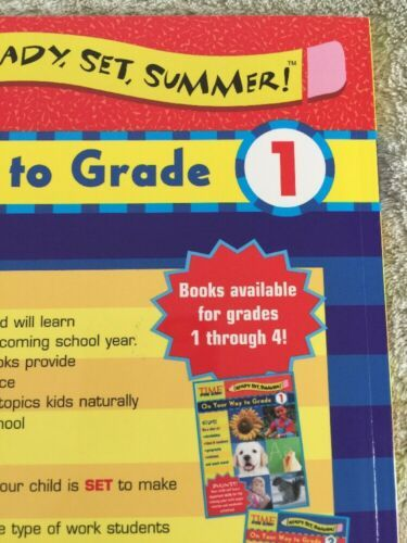 NEW Time For Kids Ready Set Summer On Your Way To 1st Grade Workbook image 8
