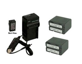 2 Batteries +Charger For Panasonic CGP-D28 CGP-D28A CGP-D28A/1B CGR-D28 CGR-D320 - $44.99