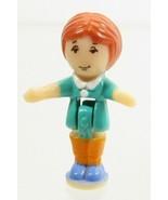 1995 Vintage Polly Pocket Doll RARE Light-up Supermarket - Tawny Bluebir... - $10.00