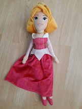 "Disney Store Sleeping Beauty Aurora Plush Doll Stuffed Animal 20"" Long Soft - $10.64"