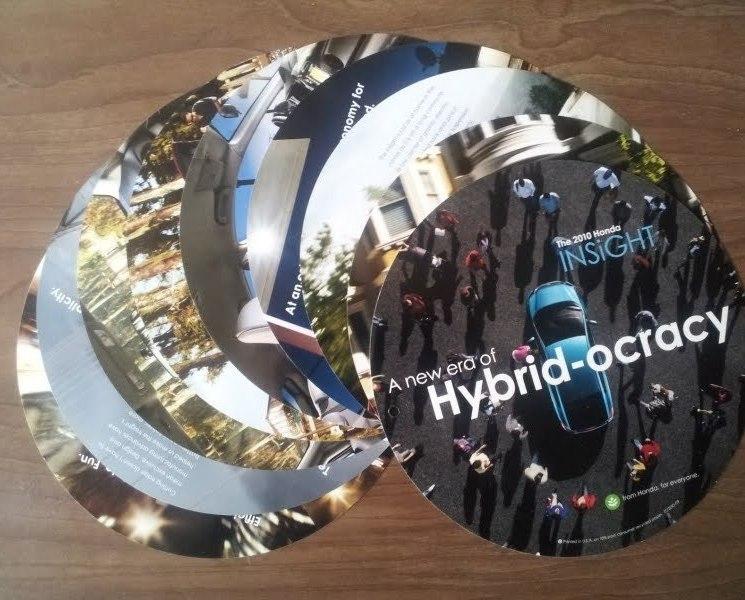 2009/2010 Honda INSIGHT sales brochure catalog 10 US HYBRID