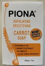 Piona Exfoliating & Brightening Carrot Soap 7oz- FREE SHIPPING!! - $14.84