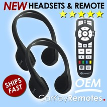 NEW! Jeep Headset Headphones with Remote - UConnect - 05091246AA - SHIPS FAST!
