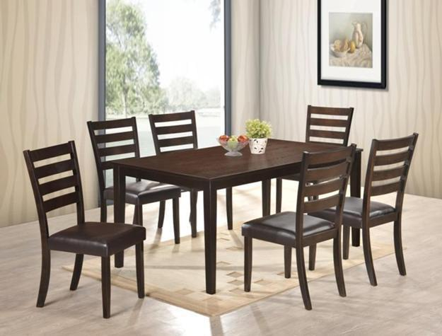 Crown Mark 2340 Dining Room Set 7pc. Aubery Collection  Transitional Style