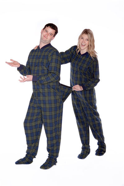 Candy Apple Red Adult Footed onesie Pajamas $ Ex Tax: $ The classic solid red adult footed pajamas are definitely not boring.