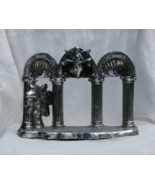 Towel Silverplate Nativity Stable Manger Scene,... - $14.99