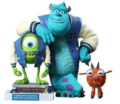Mike and Sulley with Archie Vinyl Figure Set from Monsters University MM... - $238.44