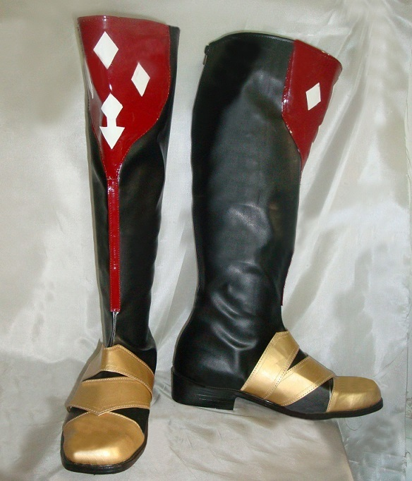 Tales of vesperia duke pantarei cosplay boots for sale