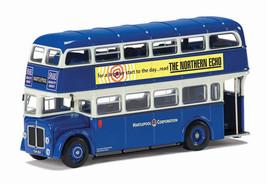 AEC Regent Hartlepool Diecast Model Bus OM41416A - $41.40