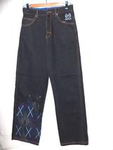 Enyce Sean Comb black fashion jeans men junior sz 16 hip hop 29x31 mint ... - $19.29