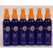 It's a 10 - Miracle Shine Spray 4oz Lot of 6 - $197.95