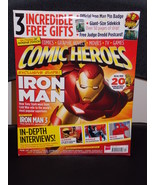 Comic Heroes by SFX Magazine # 17 April 2013 Iron Man X-Men +3 Free Gifts - $17.99