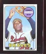 1969 TOPPS #128 TOMMIE AARON EX *190372  - $2.00
