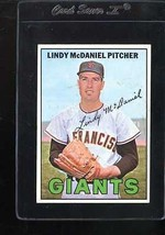 1967 TOPPS #46 LINDY MCDANIEL VGEX WAX FRONT NICELY CENTERED *113633  - $2.50