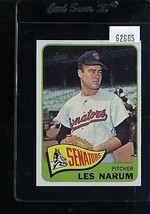 1965 TOPPS #86 LES NARUM EXMT NICELY CENTERED *62665  - $4.00