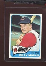 1965 TOPPS #562 BILLY MORAN VG CREASE WAX BACK NICELY CENTERED *144527  - $2.50