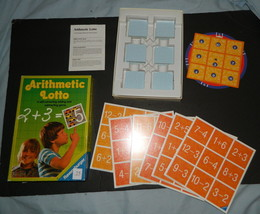Arithmetic Lotto Ravensburger Game-Complete - $22.00
