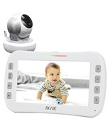 "Axvue E650 Video Baby Monitor with 5.0"" LCD Screen and Pan Tilt Camera, ... - $129.84"